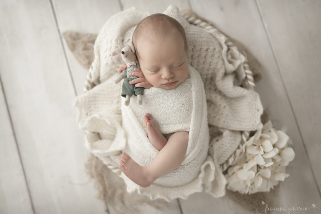 servizio fotografico di neonato a Firenze