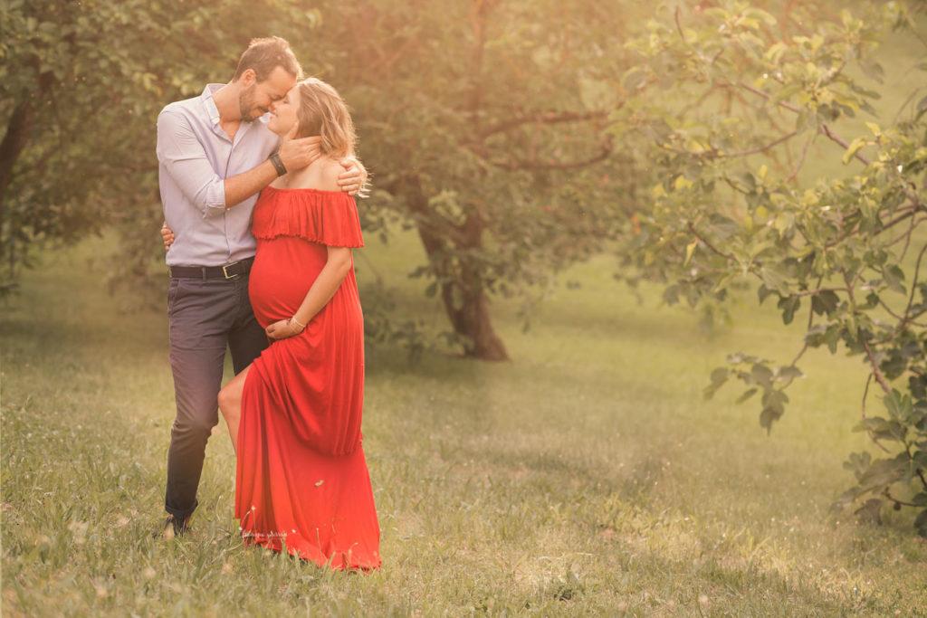servizio fotografico in gravidanza